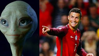 1 ПРИШЕЛЕЦ И 10 ФУТБОЛИСТОВ ХЕТ-ТРИК РОНАЛДУ (Португалия Испания ЧМ 2018) Cristiano Ronaldo FIFA 18