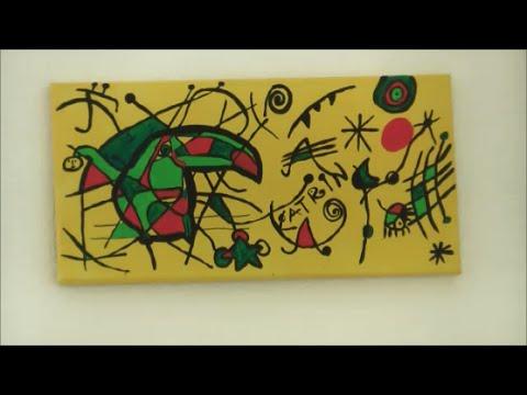 Malen wie: Joan Miro nachempfunden Acryl-Bild mit Lieblingstier *auch für Kinder