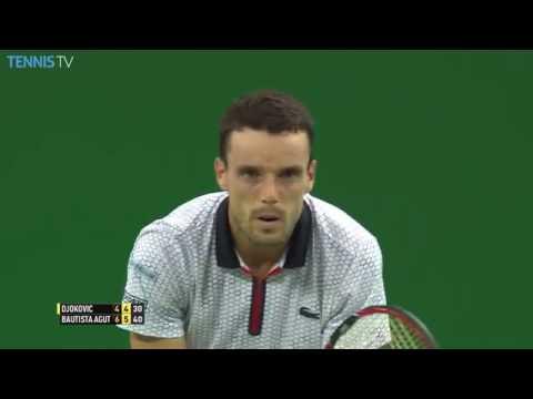 Bautista Agut Stuns Djokovic On Match Point 2016