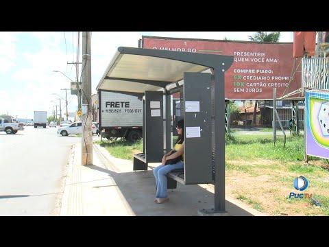 Prefeitura de Aparecida de Goiânia continua com as instalações dos novos pontos de ônibus