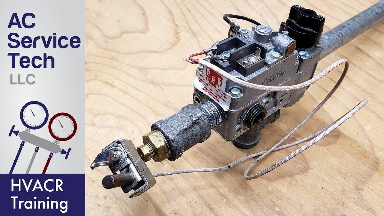 medium resolution of 750 millivolt gas valve thermopile wiring wiring diagram youtube raceflight millivolt wiring diagram