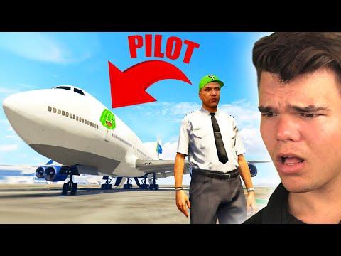 Getting A REAL JOB In GTA 5!