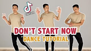 Baixar DUA LIPA - DON'T START NOW TIK TOK DANCE TUTORIAL (Step By Step)
