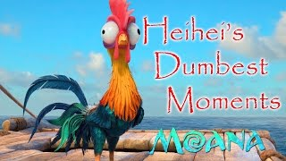 Heihei's Dumbest/Funniest Moments - MOANA