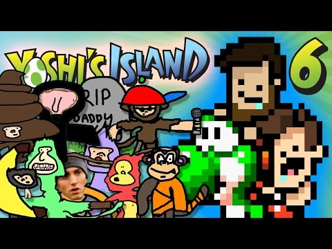 Yoshi's Island - EP 6: Exiled Donkey Kong Characters | SuperMega