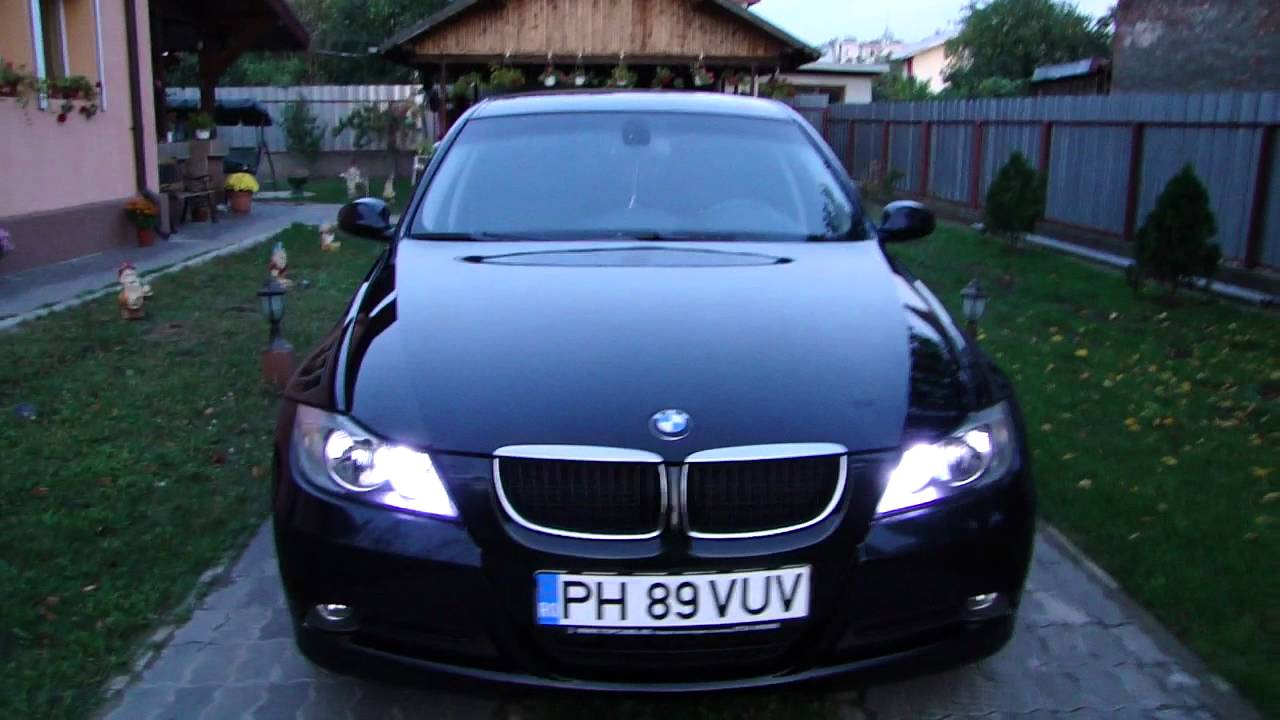 bmw 318d e90 drl youtube. Black Bedroom Furniture Sets. Home Design Ideas