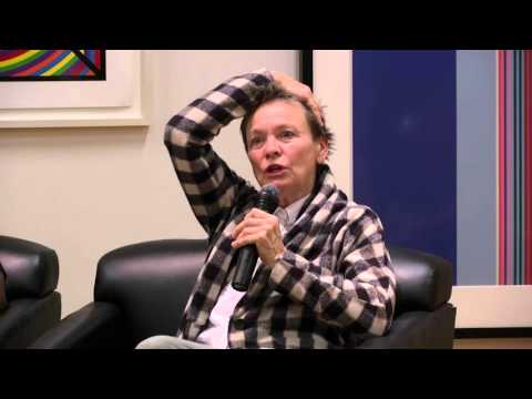 bell hooks with Theaster Gates and Laurie Anderson: Public Art, Private Vision I The New School