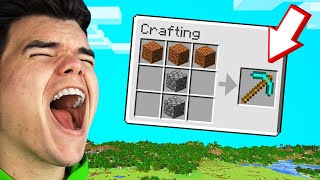 YOU LAUGH = YOU EXPLODE In MINECRAFT! (Funny)