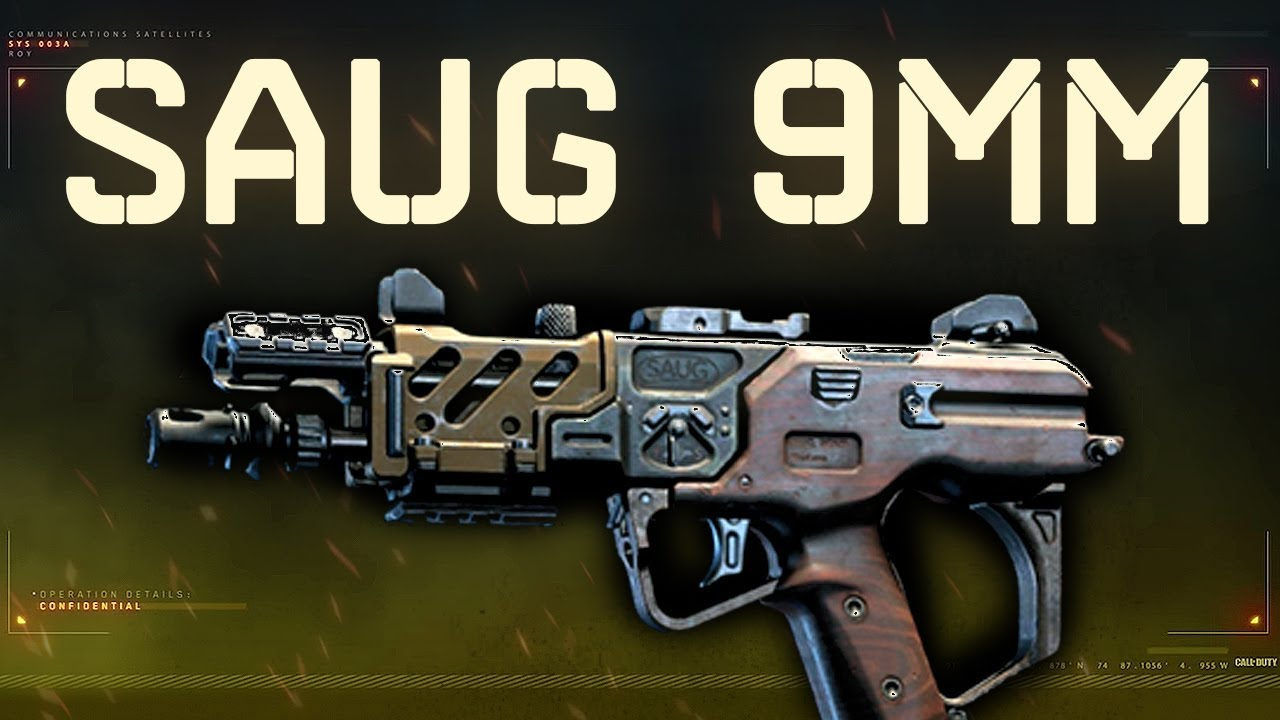 Saug 9mm – Black Ops 4 Weapon Guide