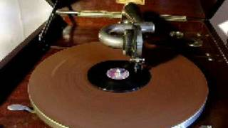 Sailors Hornpipe. Tiny Imperial 78 rpm record.