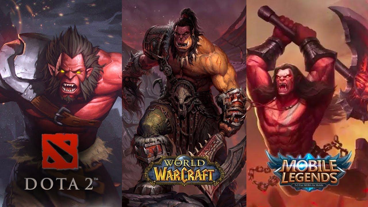 5 Hero Mobile Legends Mirip DOTA 2 Dan Warcraft