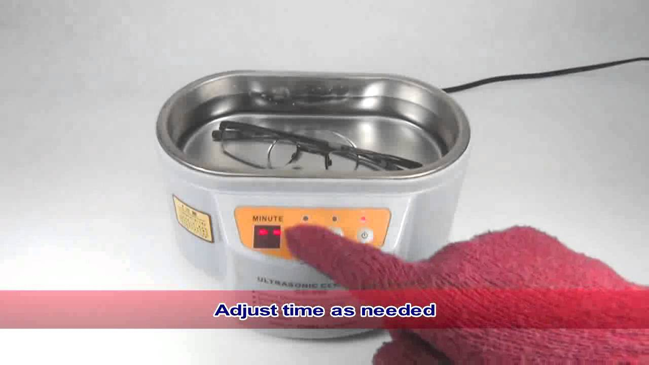 How to use Ultrasonic Cleaner Machine Cellkit ( Digital )