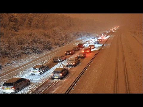 Jan 2017 UK Snow - Cheap, Quick Winter Car Kit Basics