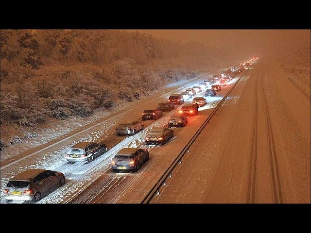 Feb 2017 UK Snow - Cheap, Quick Winter Car Kit Basics