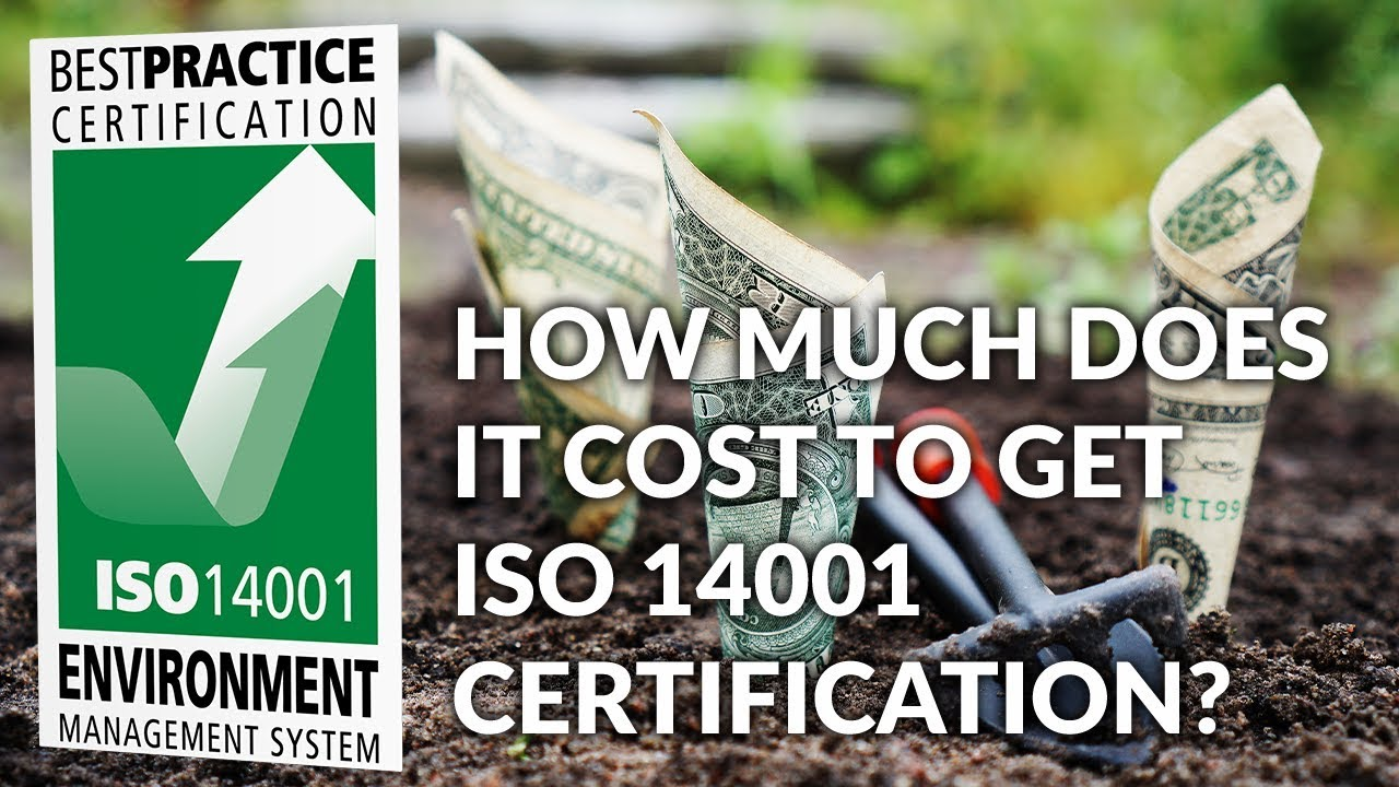 certification iso cost