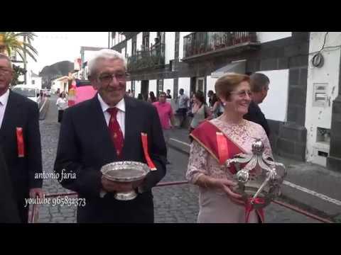 Silveira e Almagreira no Cortejo Etnográfico, Festa Sra  Lourdes 2018 Lajes do Pico