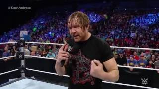 chris jericho dishes out some crazy payback on dean ambrose smackdown may 12 2016
