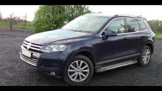 Самый Семейный Автомобиль ТЕСТ-Драйв Volkswagen Touareg V6 - YouTube