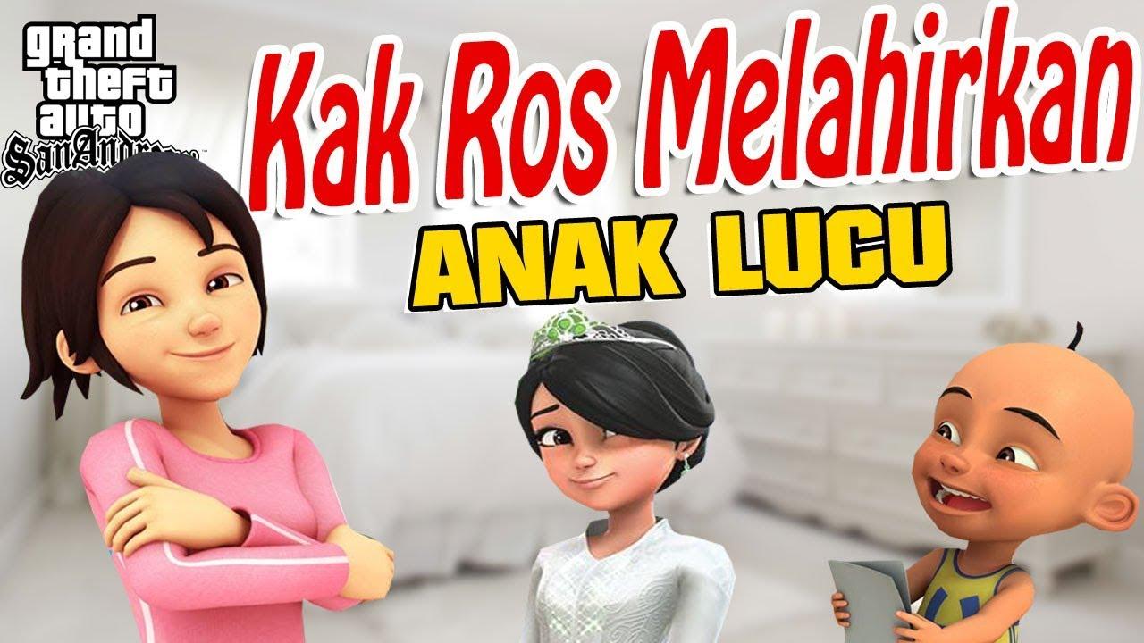 Upin Ipin Kak Ros Menikah Hamil Dan Melahirkan Berbagi