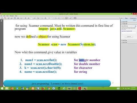 java tutorial 03 ( using the Scanner class ) , Kurdish language