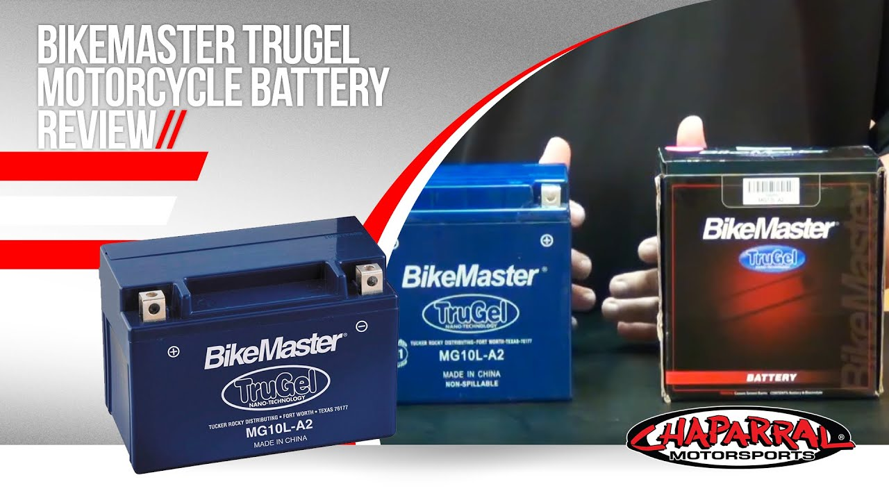 Bikemaster TruGel Motorcycle Battery Review - YouTube