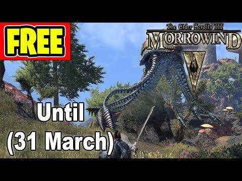 "*FREE* Game ""The Elder Scrolls III: Morrowind"" (March 31)"