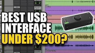 Best USB Interface under $200? - Audient Evo 8