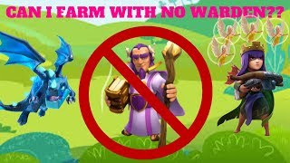 "CAN I STILL FARM WITHOUT MY WARDEN??? TOWN HALL 12 RUSH RECOVERY EPISODE 13 - ""CLASH OF CLANS"""