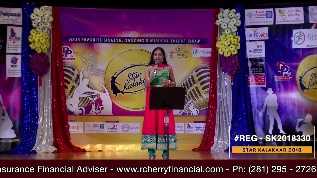 Registration NO - SK2018330 - Star Kalakaar 2018 Finals - Performance
