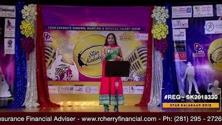 Registration NO - SK2018330 - Star Kalakaar 2018 Finals - Performance