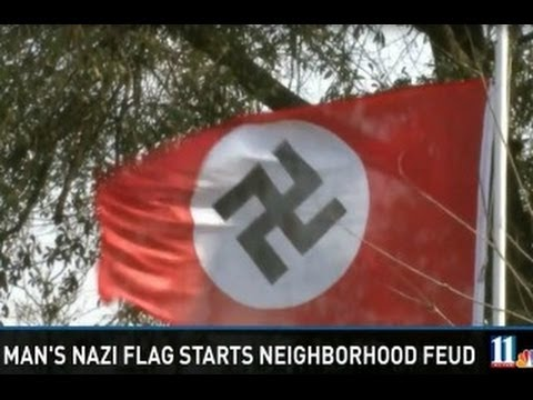 Georgia Man Flies Nazi Flag Because Obama Youtube
