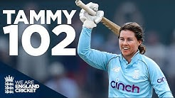 Theres No Place Like Home Kent Local Tammy Beaumont Hits Sparkling 100 England Cricket