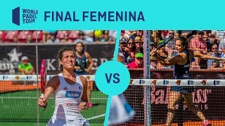 Resumen Final Femenina Marrero/Ortega Vs Josemaría/Nogeira Euro Finans Swedish Padel Open