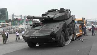 16式機動戦闘車 ATC撤収 osaka防衛防災フェスティバル 2017