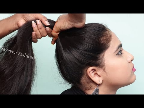 New hairstyle for wedding , function and party || Juda hairstyles || 2019 best hairstyles thumbnail