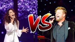 The EPIC Belting Battle - David Phelps vs SoHyang - F4/C5 - F5/C6