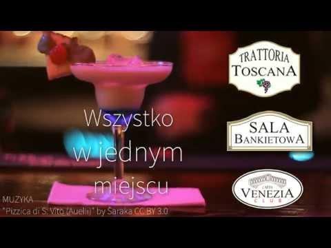 Trattoria Toscana, Cafe Venezia Club - film promocyjny