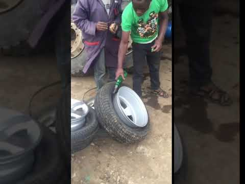 Tubeless Tyre Fitting Awesome NEW Technique