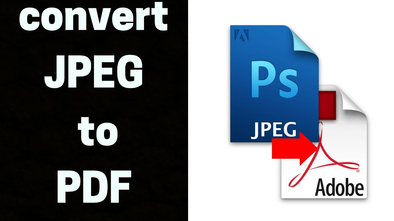 How To Convert Jpg Pdf Without Converter Free Online