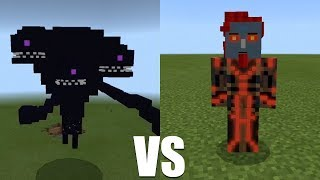What Happens When the Wither Storm Fight Against Romeo in Minecraft Pocket Edition?