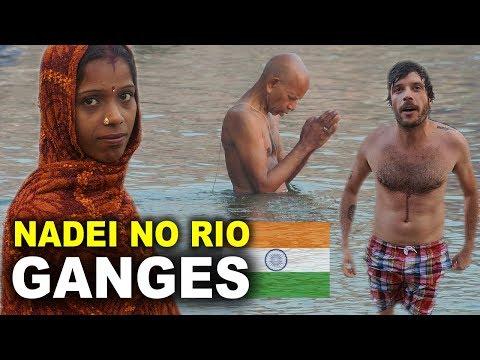 MOCHILÃO NA INDIA (VARANASI) - CREMAÇÃO DE CORPOS E RIO GANGES