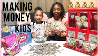 HOW TO MAKE MONEY 💰 AS A KID (VENDING MACHINE BUSINESS)