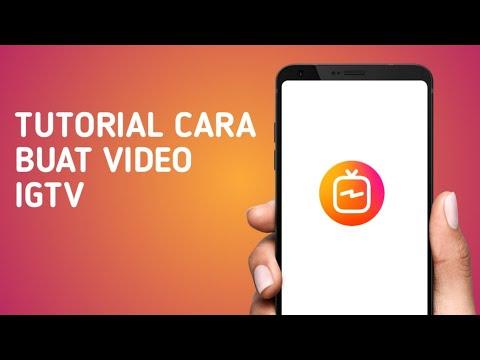 Tutorial Cara Edit Buat Video Igtv Tutorial Instagram Youtube