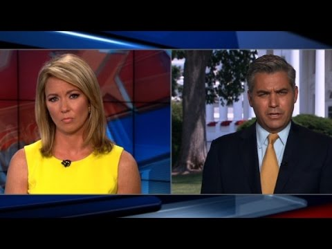 CNN reporter miffed by White House briefing