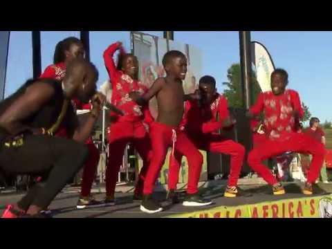 Eddy Kenzo & The Ghetto kids @Afro fest 2018 thumbnail