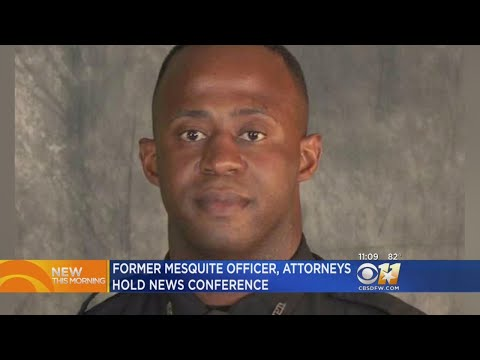 Fired Mesquite Officer's Attorney: 'Politics And Fear Led To Dismissal'