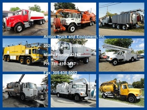Action Truck And Equipment, Inc. Vacuum Trucks