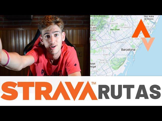 COMO crear RUTAS en STRAVA?! La guía definitiva pera crear rutas en 2020 para ir en bici o a correr!