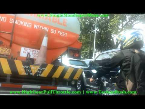 LA SALLE GREENHILLS never ending traffic