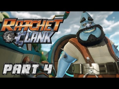 [4] Ratchet & Clank PS4 - A Helpful Plumber - Let's Play Gameplay Walkthrough